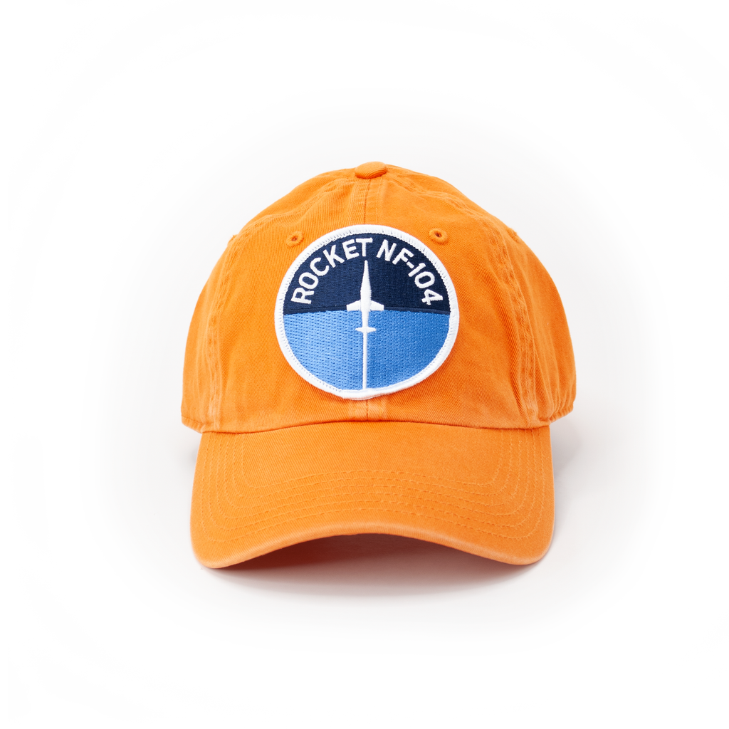 NF-104 Orange Dad Hat