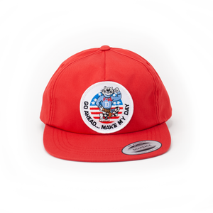 Daymaker Red Retro Trucker