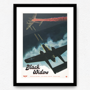 Black Widow Print
