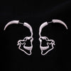 Brand New Skull Shaped Stud Earrings