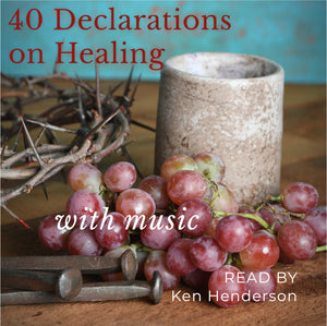 40 Declarations On Healing with Music