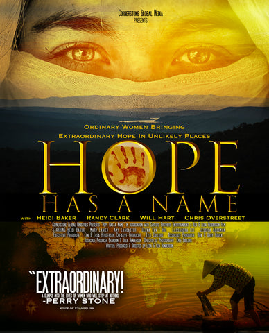 Hope Has A Name DVD