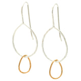 Drip Drops: Sterling Silver & 14/20 Goldfill Earrings
