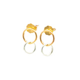 Donuts: Sterling Silver & 14/20 Goldfill Earrings