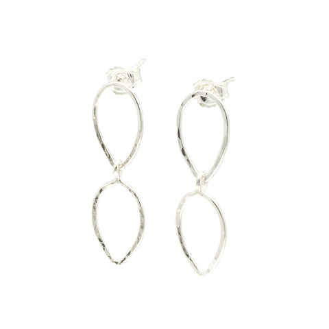 Leafy: Sterling Silver Earrings