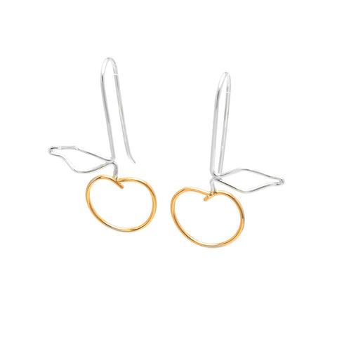 Fruit: Sterling Silver & 14/20 Goldfill Earrings