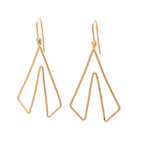Culottes: 14/20 Goldfill Earrings