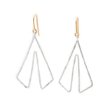 Culottes: Sterling Silver Earrings