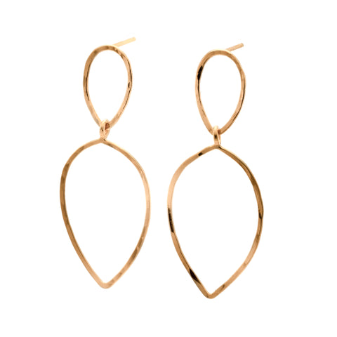Mother: 14k Vermeil Earrings