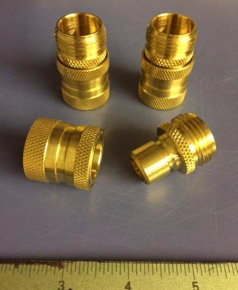 Hotwater Spider Valve Brass Quick-Disconnect