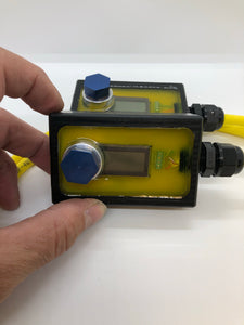 Rebreather Single Cell PO2 Display