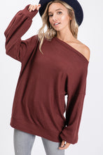 The Maddy Top in Wine
