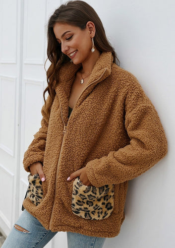 The Teddy Bear Coat in Chestnut