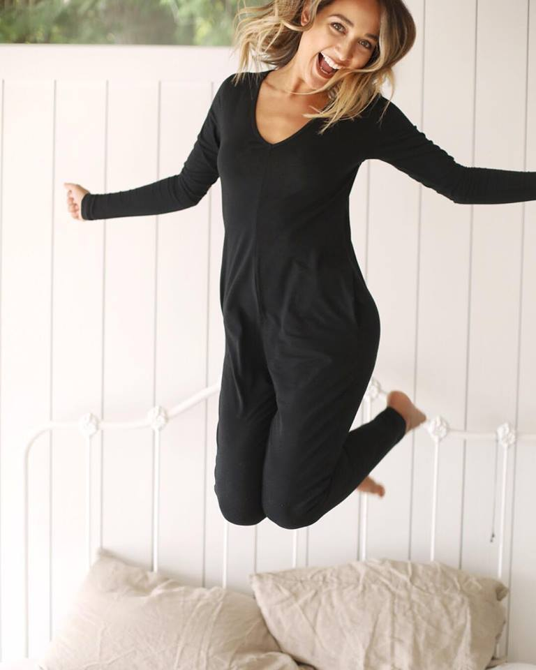 Smash + Tess // The Friday Romper in Midnight Black