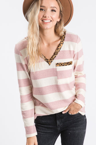 The Thelma Sweater in Blush