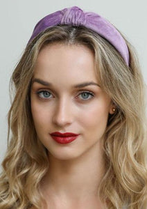 The Blair Waldorf Headband in Lilac