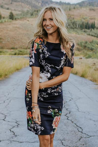 Roolee Pando Grove // The Toni Floral Dress
