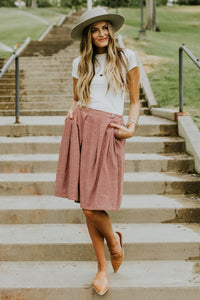 Roolee Pando Grove // The Budapest Gingham Skirt
