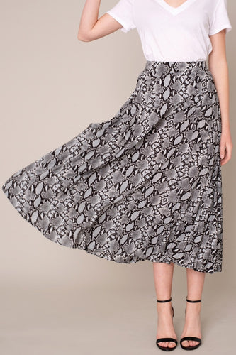 The Eda Skirt in Grey