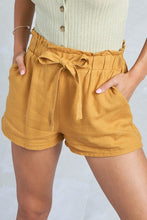 The Camp Shorts in Mustard