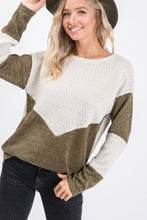 The Mildred Sweater in Olive