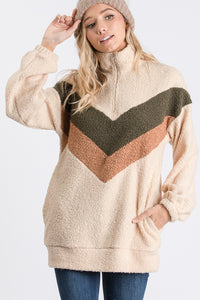 The Vintage Inspired Pullover in Cream