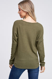 The Tilly Sweater // Olive