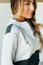 Ampersand Ave Half-Zip Sweatshirt in One & Only