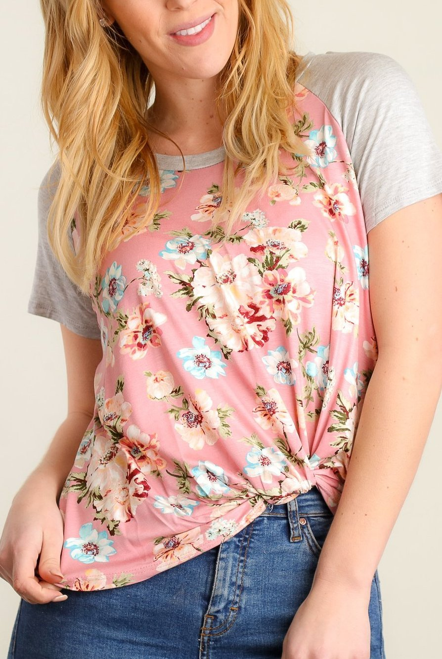 The Floral Knot Top