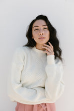 "The Roster ""You are Fearless"" Sweater in Ivory"