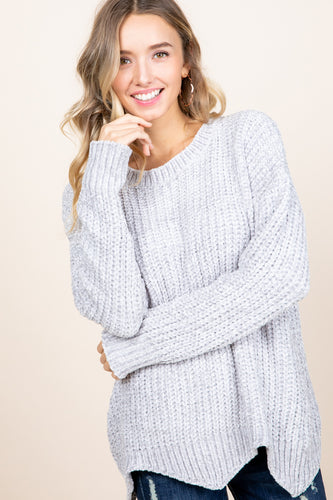 The Scalloped Knit in Cloud