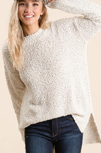 The Spring Knit Sweater in Ivory