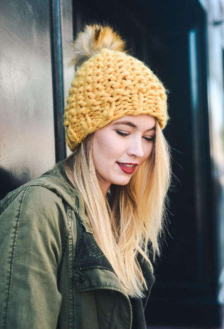 The Frosty Toque // Mustard