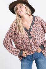 The Anna Top in Leopard