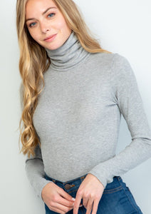 The Basic Bodysuit in Frost (final sale)