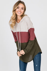 The Lou Color Block Top