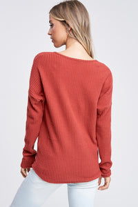 The Tilly Sweater // Rust