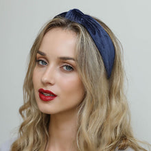 The Blair Waldorf Headband in Navy