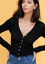 The Blaire Top in Black (final sale)