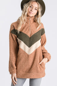 The Vintage Inspired Pullover in Camel