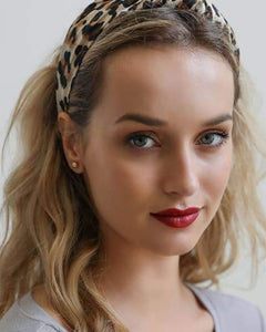 The Blair Waldorf Headband in Leopard