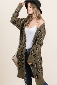 The Arden Cardi in Olive