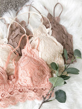 The Lacey Bralette in Dark Taupe
