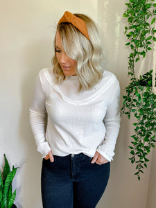 The Lily Top in White