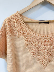 The Millie Top // Apricot