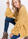 The Knitted Chunky Cardi in Marigold (final sale)