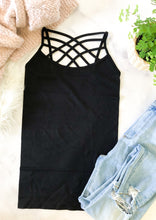 The Basic Lattice Tank in Black
