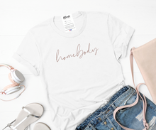 Blonde Ambition // Homebody Tee in White