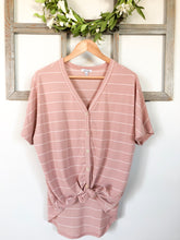 The Esme Top // Blush
