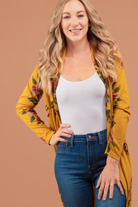 The Anniston Cardi in Mustard